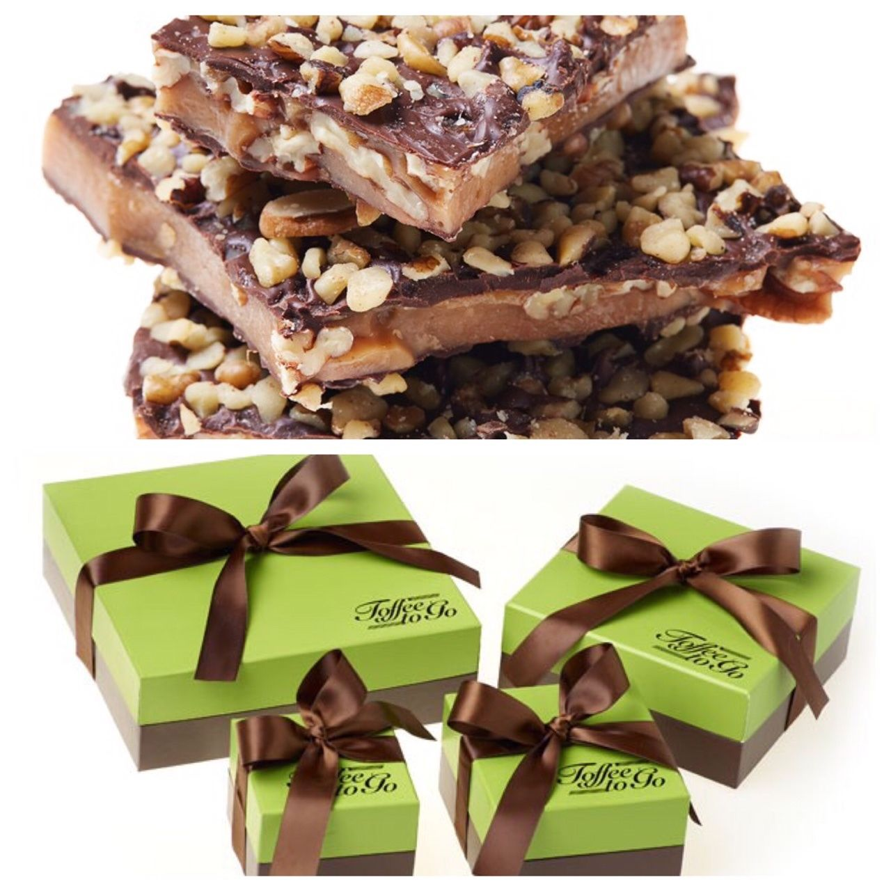 Need hostess gifts for the holidays? This toffee is scrumptious! Buttery and crunchy but not at all sticky. And it's already pretty to present, no wrapping required!