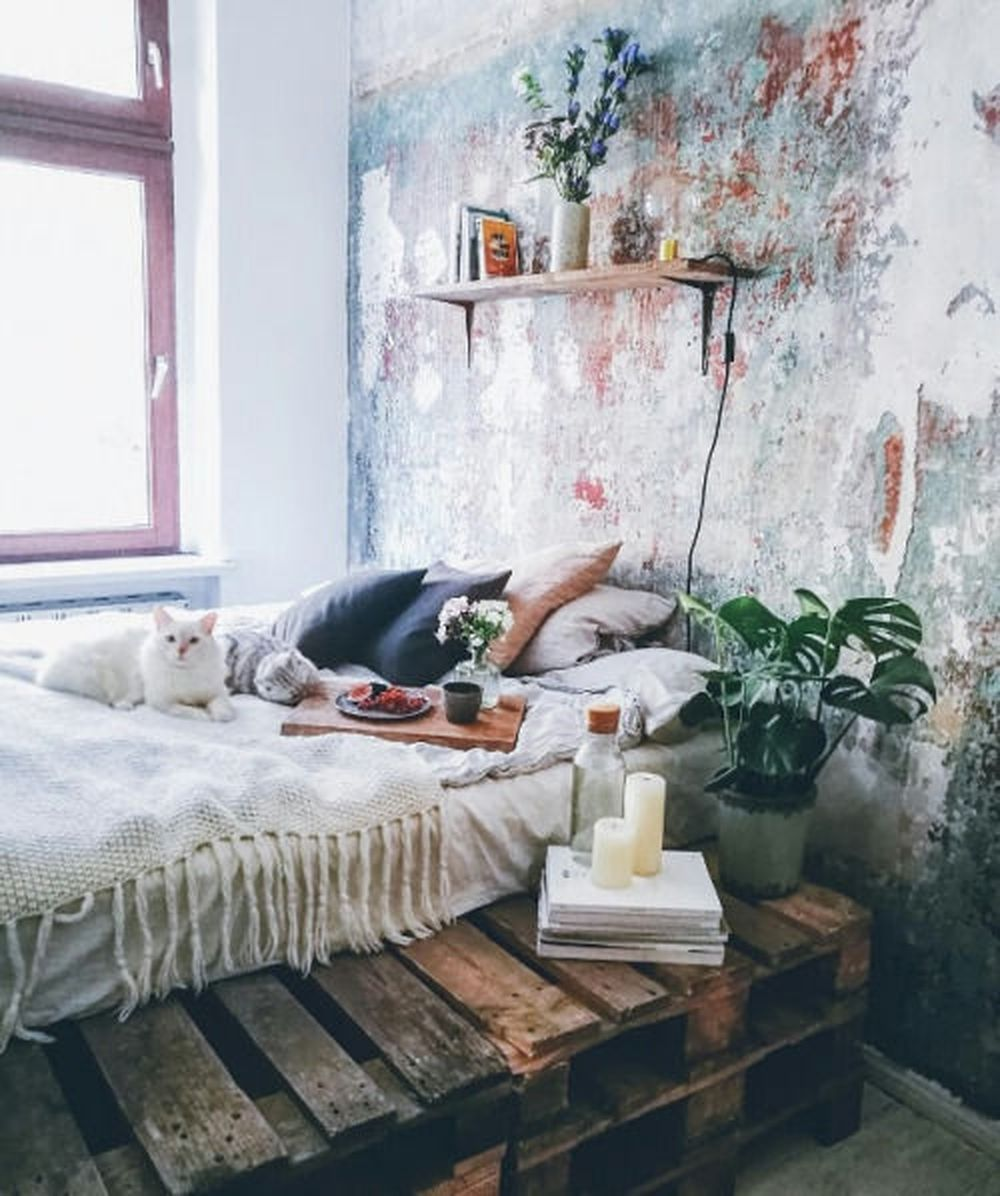 34 Pretty Wall Painting Ideas That Will Turn Your Bedroom Into Art ...