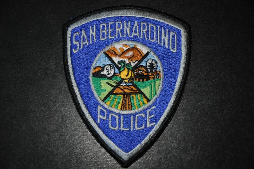 San Bernardino Police Patch, San Bernardino County
