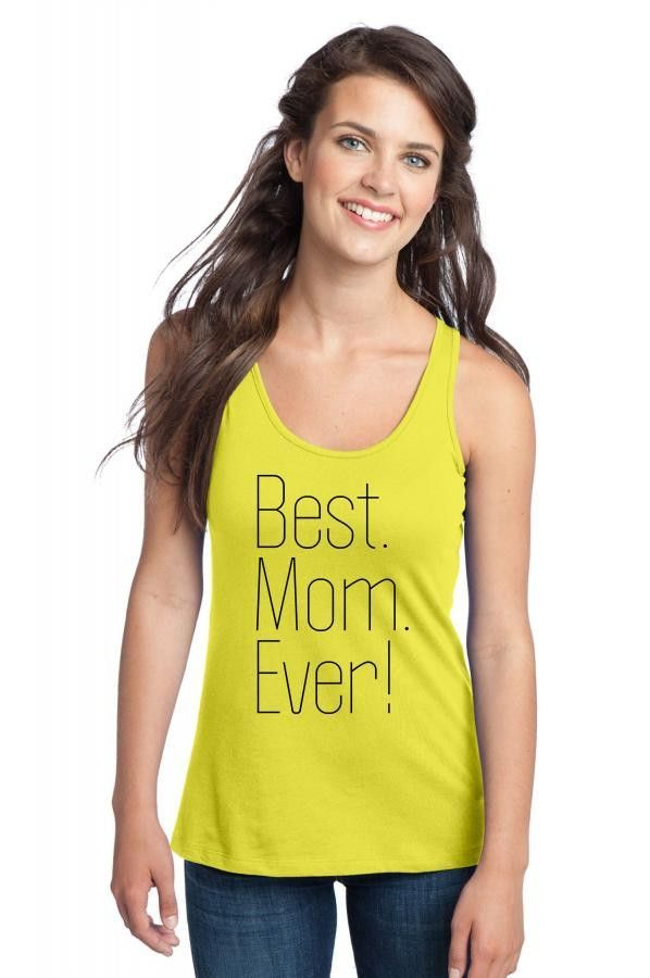 best mom ever t shirt design 16 Racerback Tank