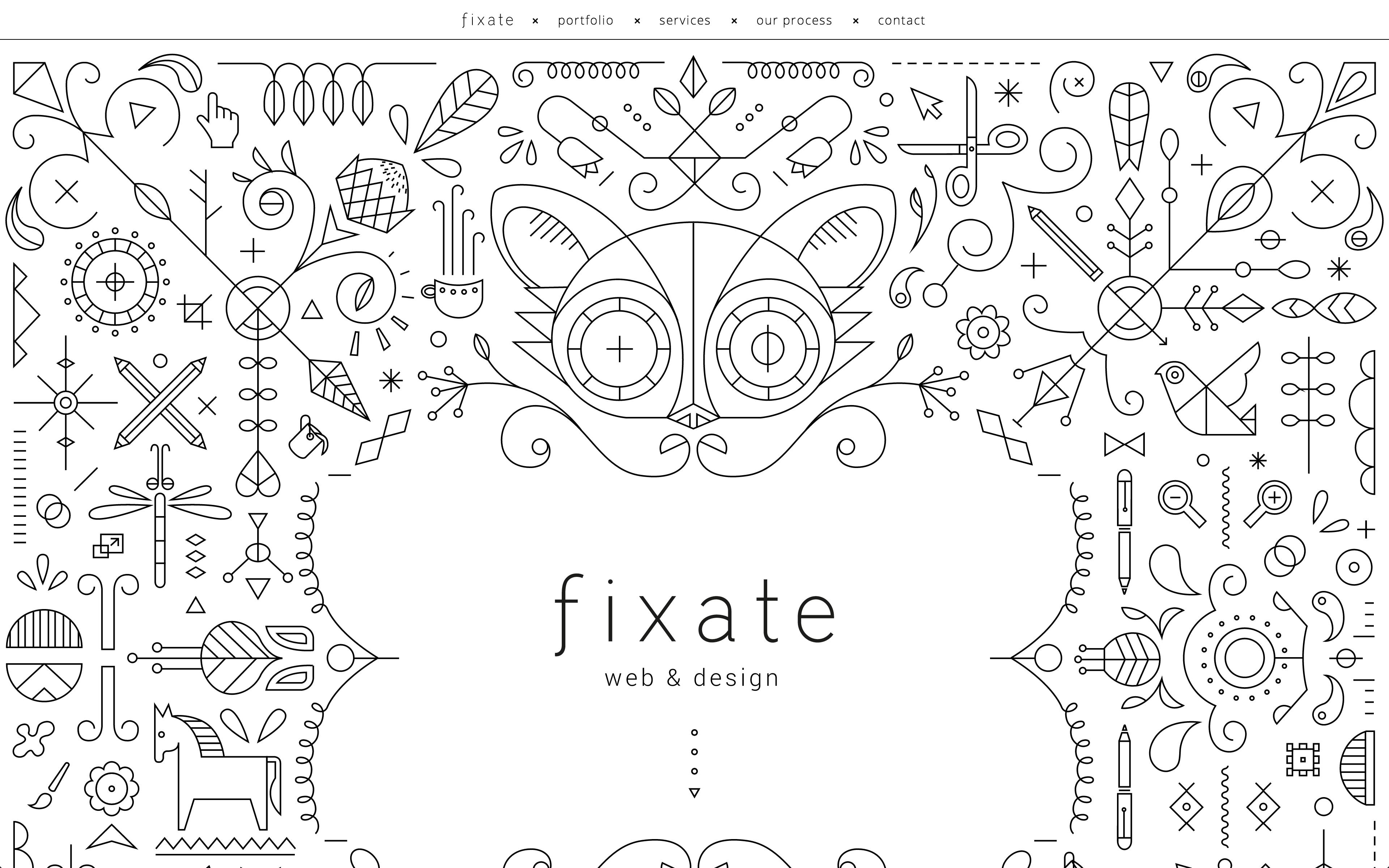 Fixate the best website design iuve seen in ages web