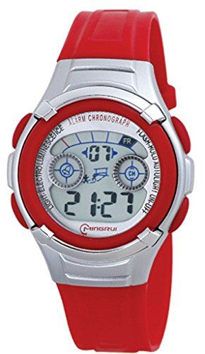 Lhapy Expedition Rugged Digital Sport Unisex Resin Watch Gift