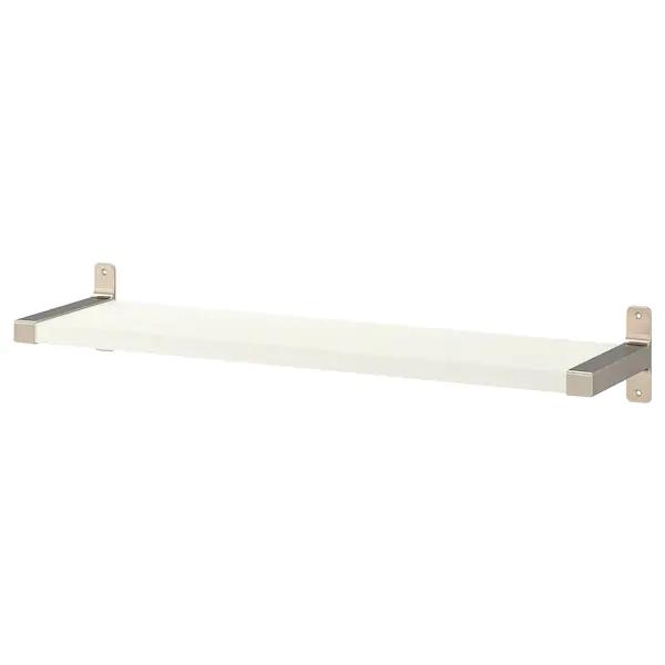 Ikea Bergshult Granhult Wall Shelf White Nickel Plated In