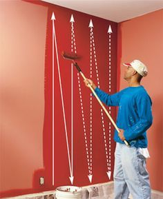 Paint Roller Techniques And Tips These DIY Painting Will Help You Roll Your Walls Quickly Smoothly Without Leaving Marks