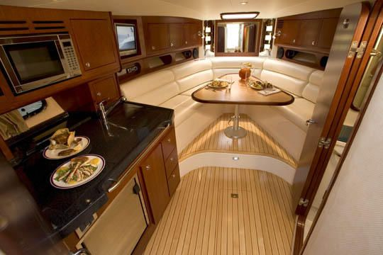 The NEW Chris Craft Corsair 36' | Hatteras Interior