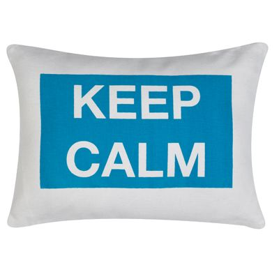 Keep Calm Statement Pillow 4040 College Dorm Dormlinens Mesmerizing College Decorative Pillows