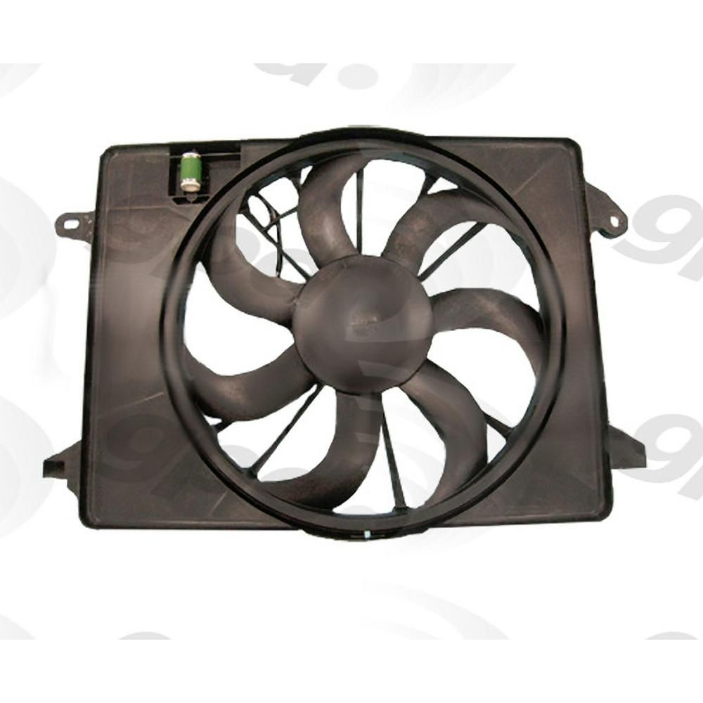 Global Parts Distributors Llc Engine Cooling Fan Assembly 2811727