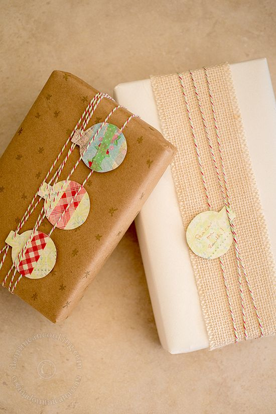 Inexpensive Food Gifts pretty wrapping Pinterest Envolturas