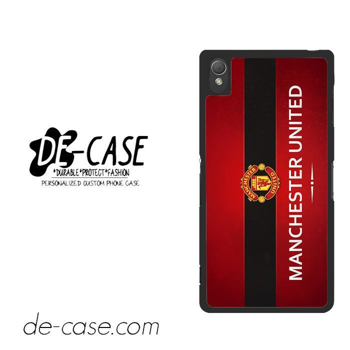 Manchester United Red For Sony Xperia Z3 Case Phone Case Gift Present YO