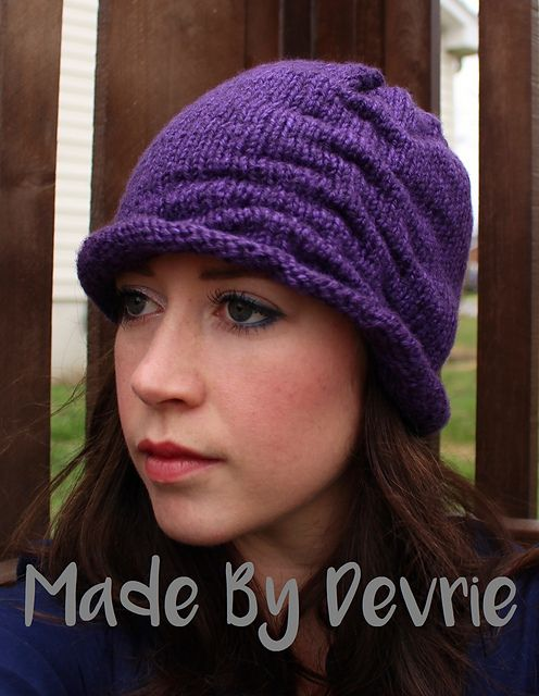 67 Scrunched Slouchy Hat pattern by MadeByDevrie