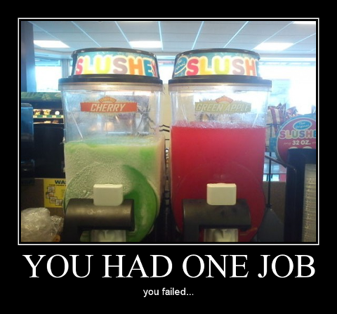 22 examples of you had one job and failed relationship