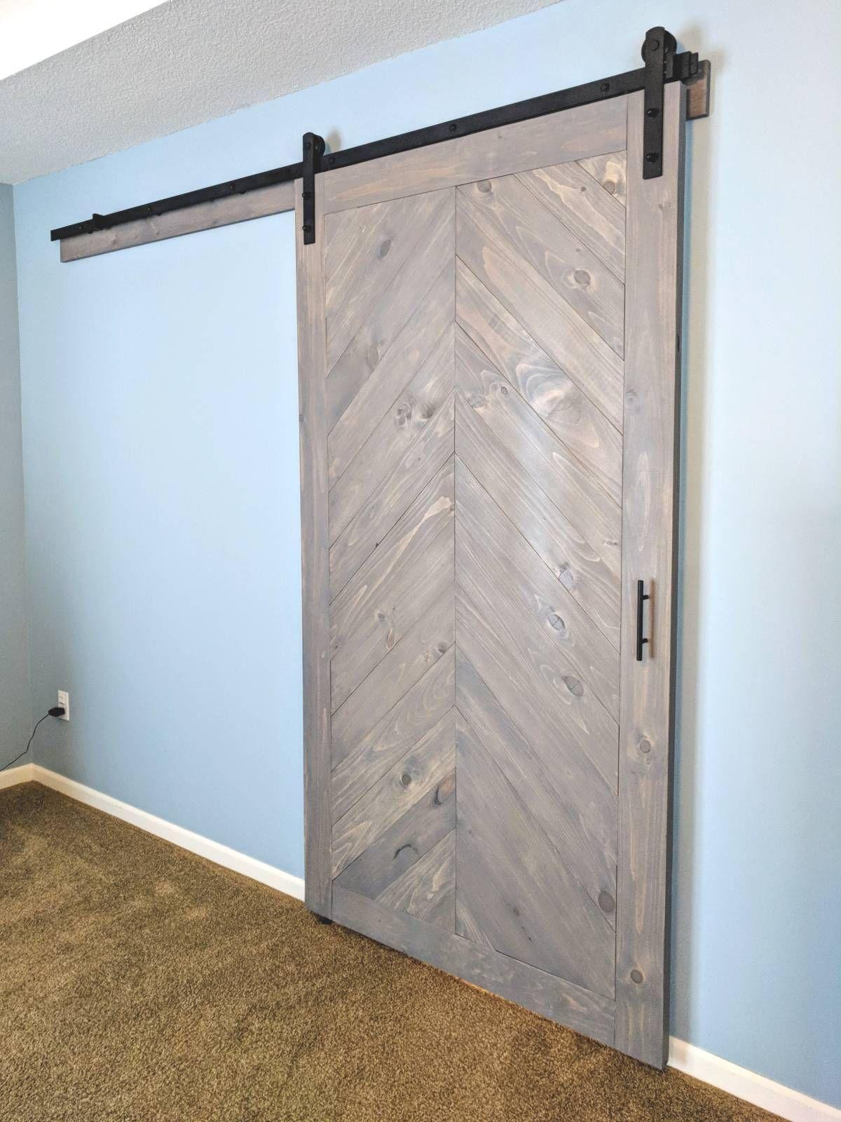 Chevron Barn Door Walston Door Company N Kansas City Mo Interior Barn Doors Barn Door Barn Doors Sliding