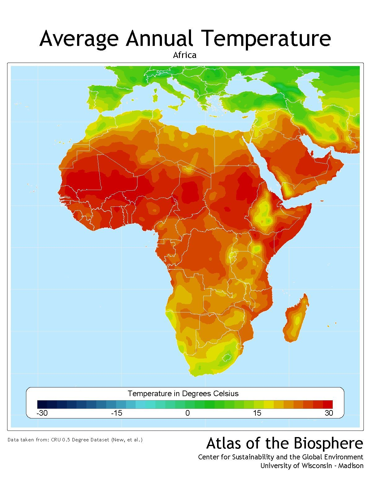 temperature map of africa   Google Search | Maps and Scenery Stuff