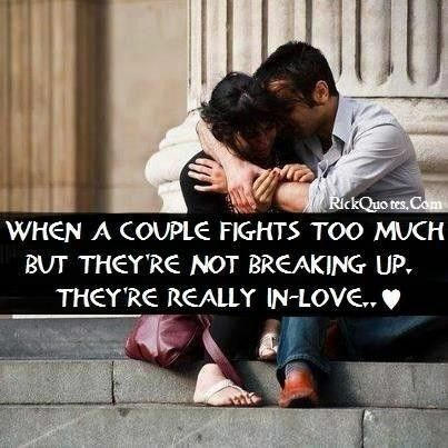 Fighting Too Much In A Relationship