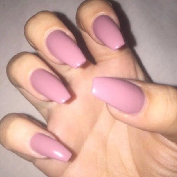 Image Result For Rose Pink Acrylic Nails Pink Acrylic Nails Pink Nails Nails Tumblr