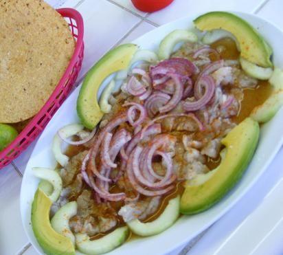 Aguachile De Camarones Estilo Sinaloa Aguachile De Camaron