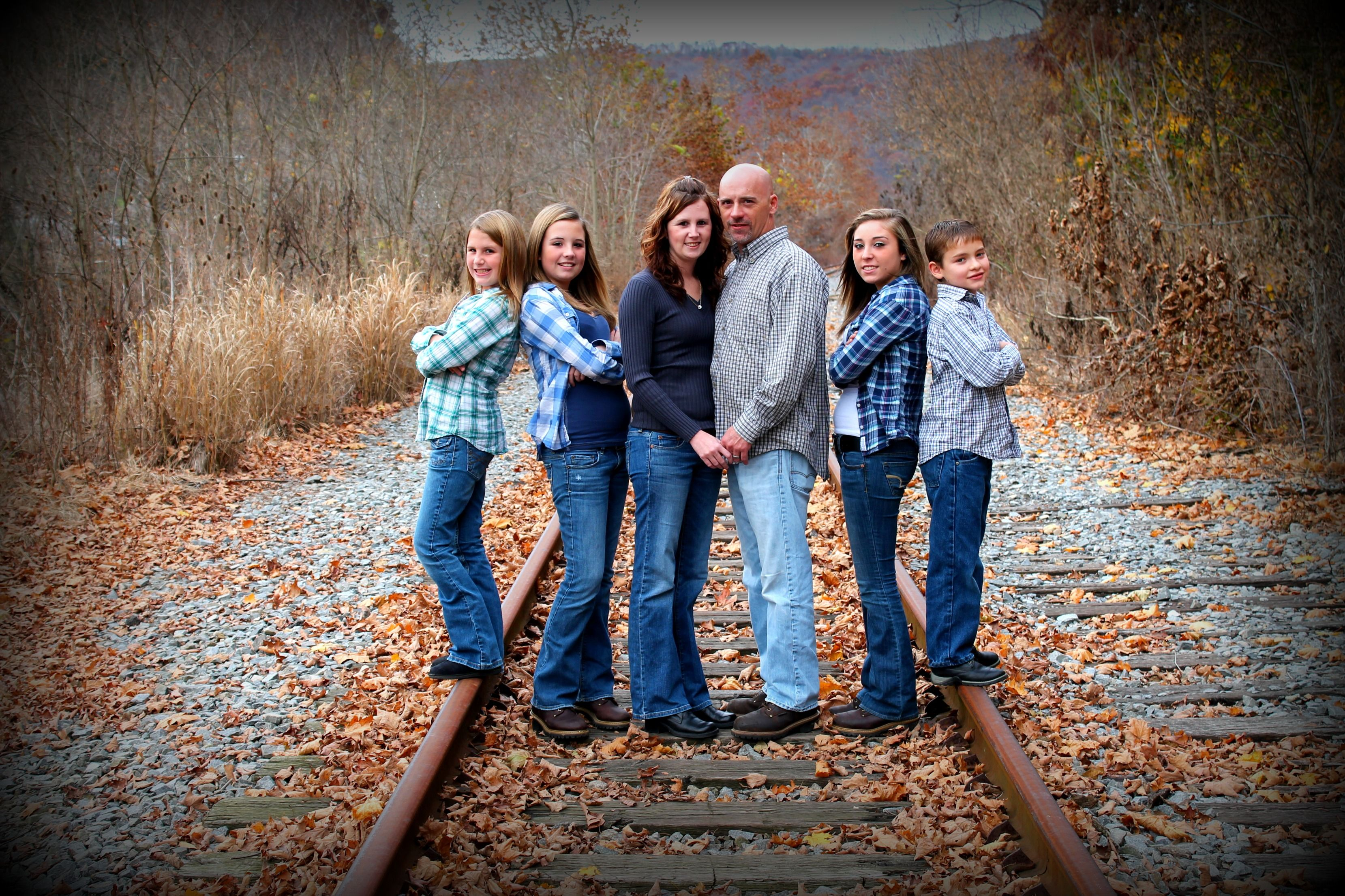 Family portrait professional photography