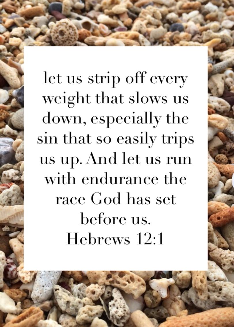 hebrews 12 1 bible verse for weight loss inspiration