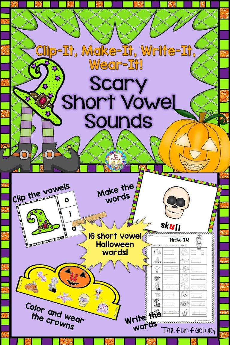 """Your students will have fun reading 16 """"scary"""" Halloween"""