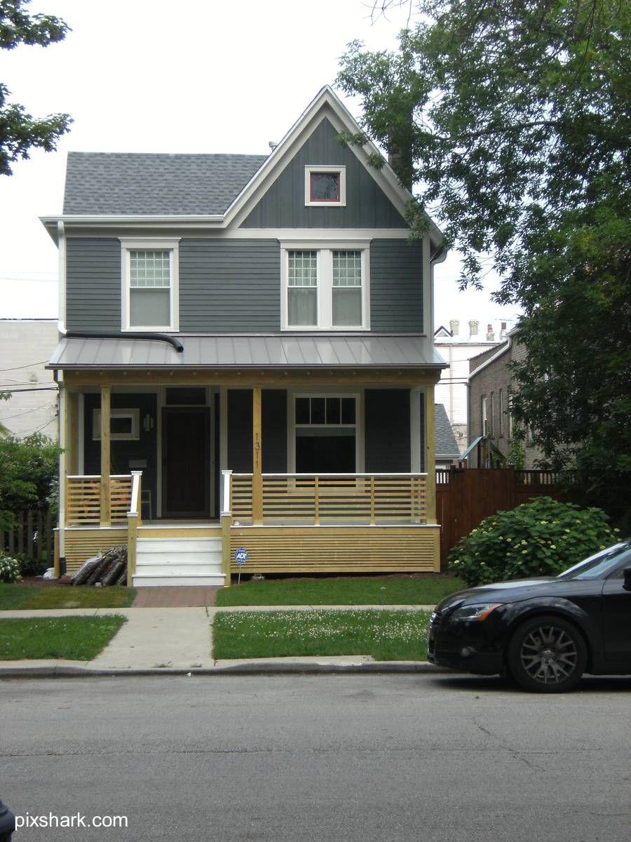 T pica casa americana american house houses for Disenos de casas americanas