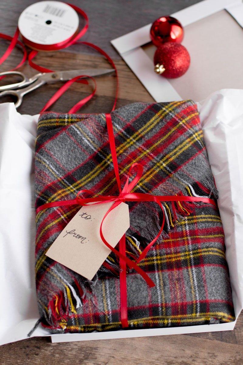 Diy no sew flannel blanket scarf diy blanket scarf