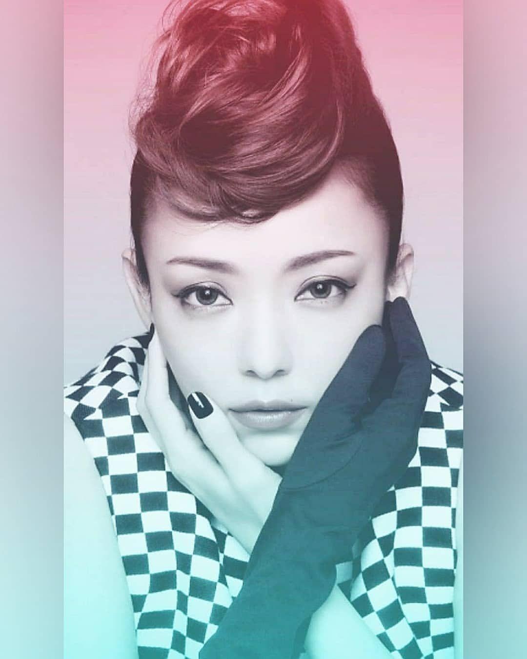 bafafa8c96c76 namie738 only - Instagram 「♡ 加工してみましたver. .  安室奈美恵 ...