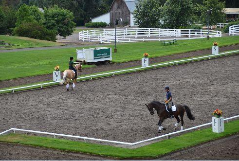 Devonwood Equestrian Center Outdoor Arena Design By