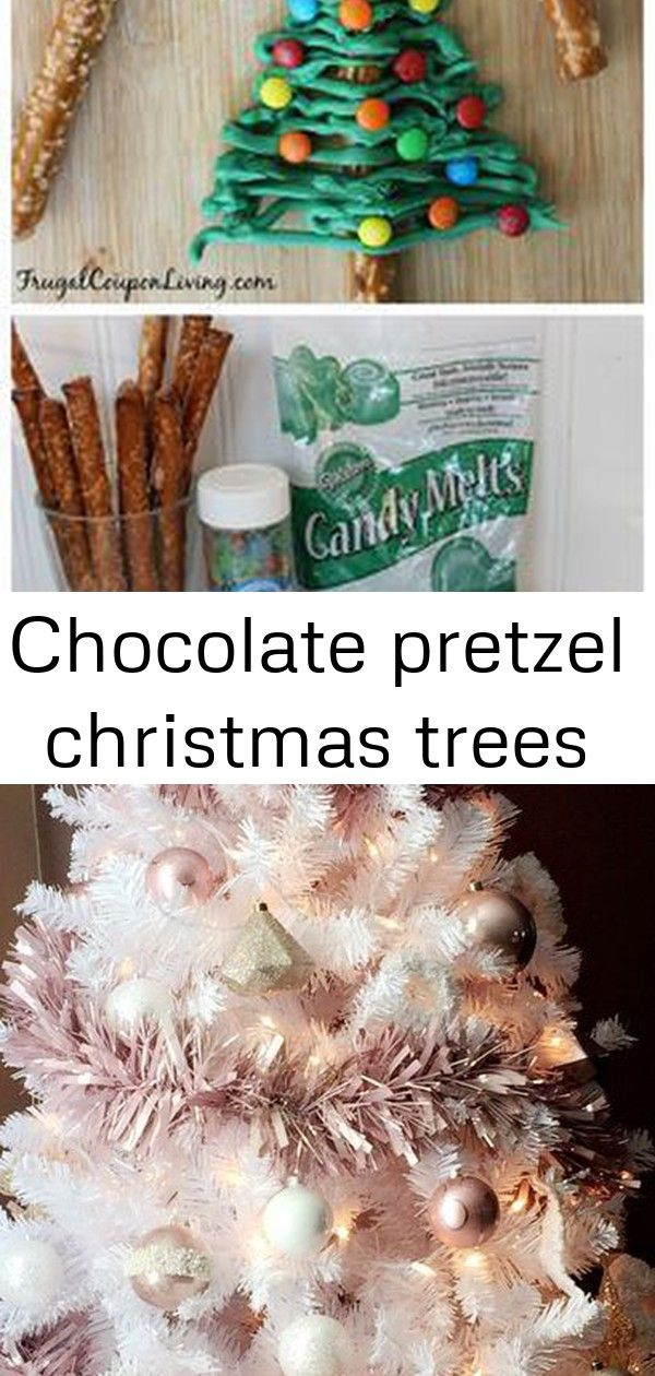 Chocolate pretzel christmas trees Chocolate Pretzel Christmas Trees - Great for the Holiday Season found on Frugal Coupon Living. 56 Cute Pink Christmas Tree Decoration Ideas You Will Totally Love interior Home For Christmas Tips For Seasonal Decorating Malteser Cake Recipe Easy Video Tutorial | The WHOot