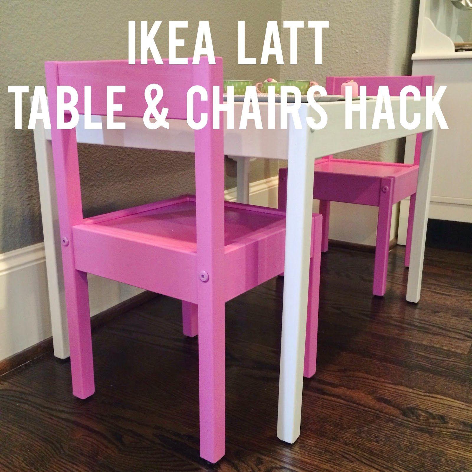 IKEA Hack: LÄTT Playtable & Chairs (Veronika's Blushing