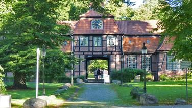 Das historische Wellingsbütteler Torhaus in Hamburg