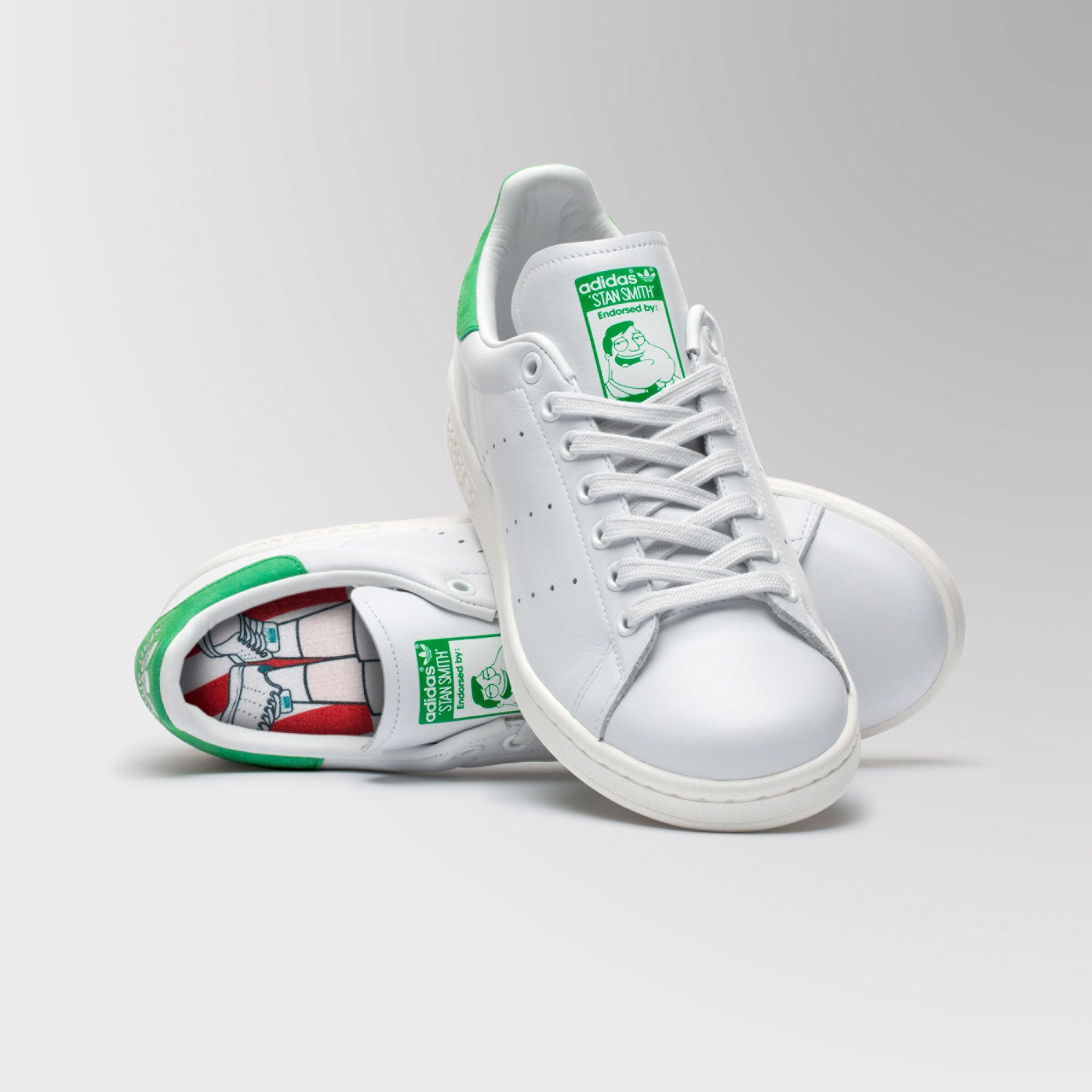 adidas Stan Smith American Dad Shoes - White | adidas UK