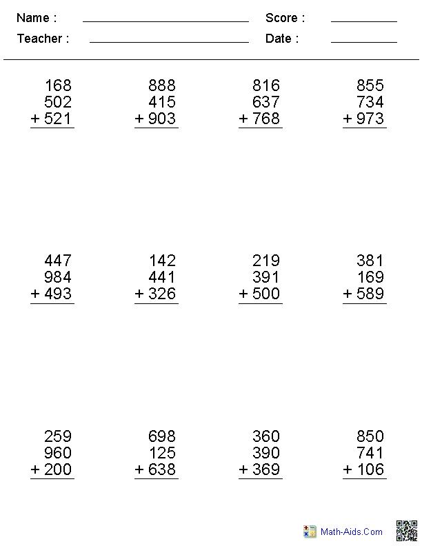 Math Worksheets Dynamically Created Math Worksheets 7th Grade Math Worksheets Free Printable Math Worksheets Printable Math Worksheets