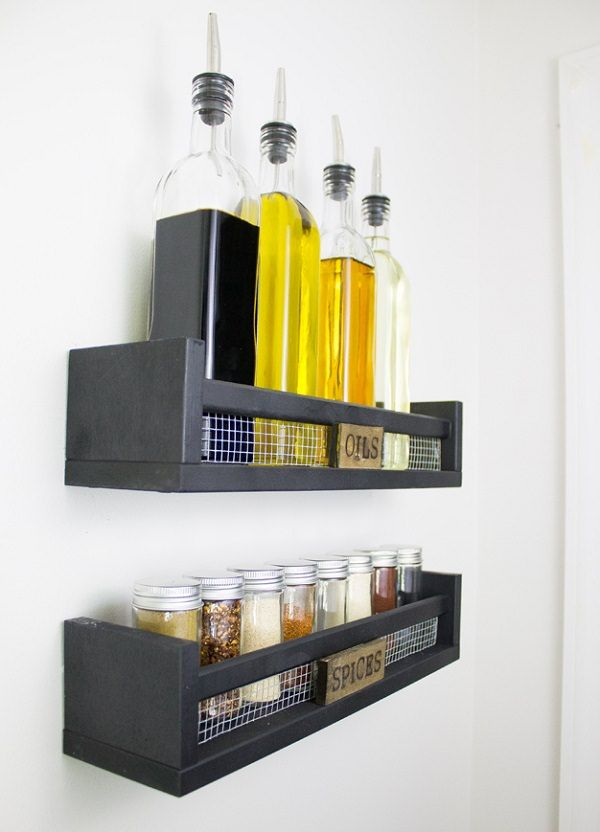 37 Easy DIY Spice Storage Ideas - Citchen | Do it yourself home ...