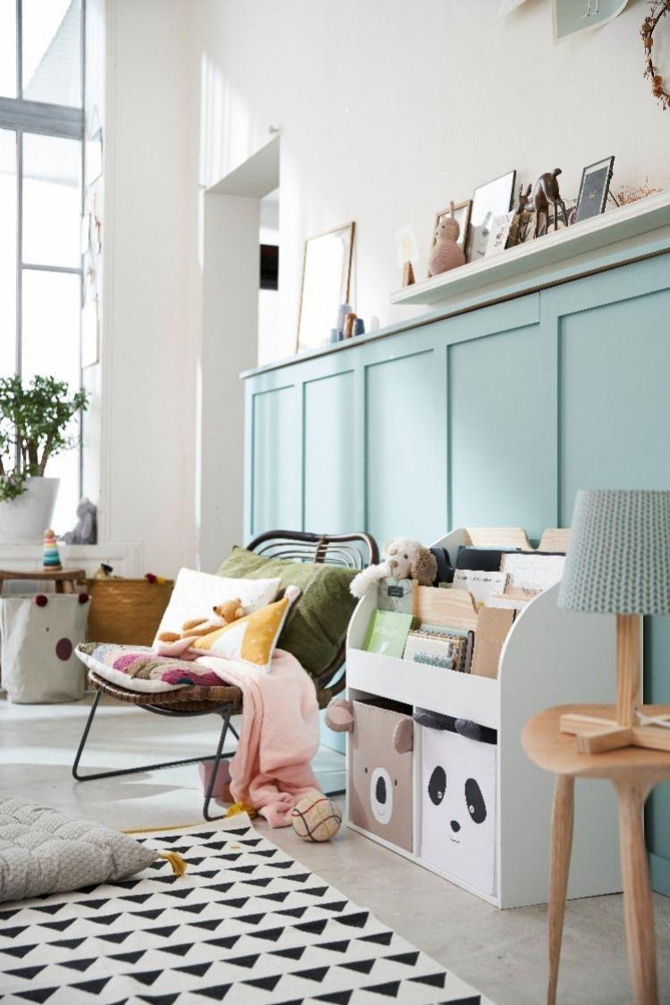 id al et tr s accessible pour y ranger ses jouets et ses. Black Bedroom Furniture Sets. Home Design Ideas