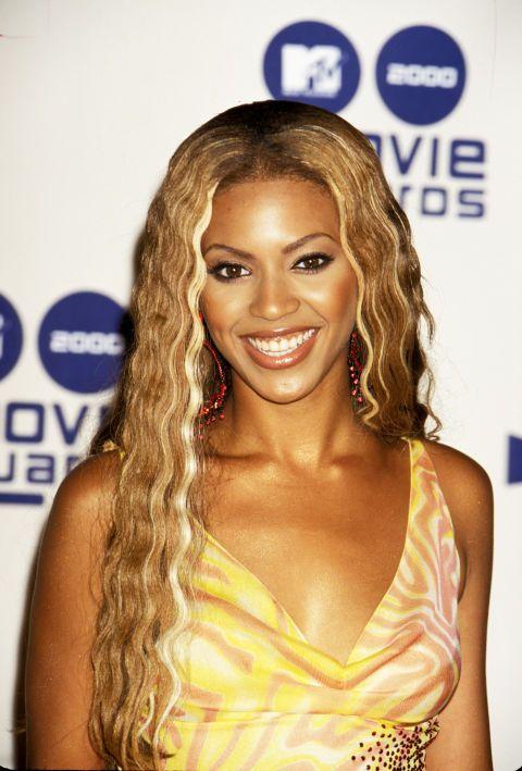 The Trendiest Hairstyle The Year You Were Born Beyonce Hair Hair Evolution Honey Blonde Hair