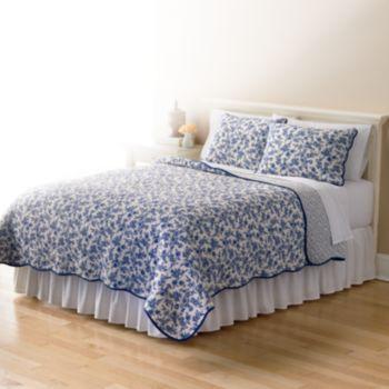 Home Classics Sarah Toile Quilt Coordinates Bedding Sets Master