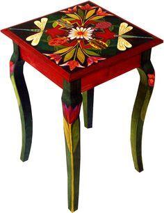 18 inches by 18 inches by 24 inches (46 cm x 46 cm x 60 cm) custom by Helen Heins Peterson #stoelen