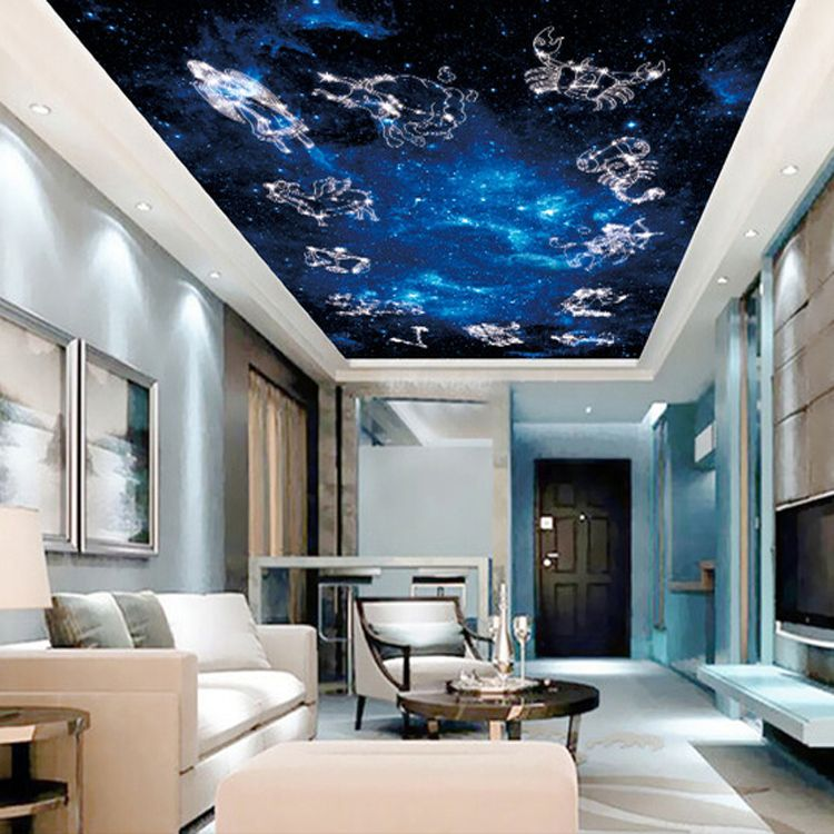Wholesale Constellation Mural 3d Wall Ceiling Murals