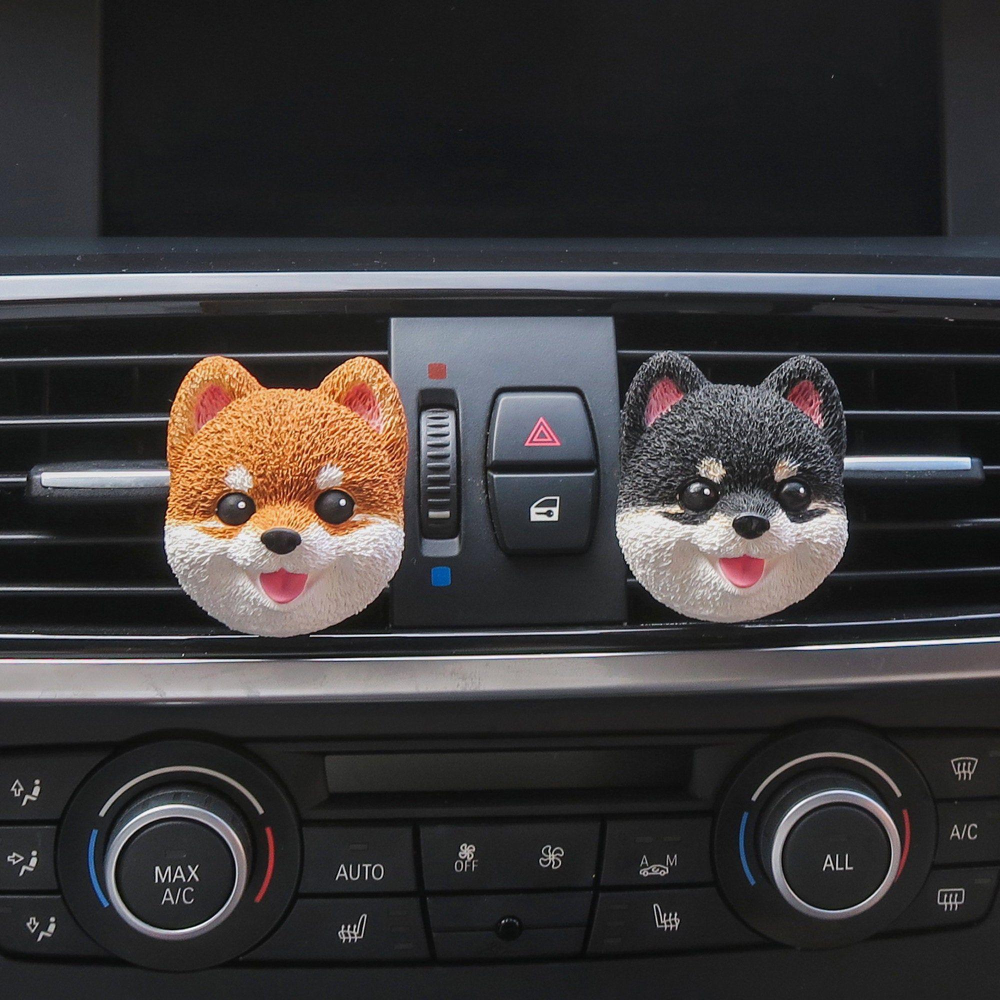 Shiba Inu Car Accessory Car Air Freshener Air Vent Clip