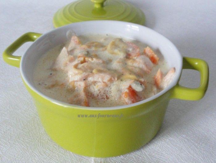 Blanquette de saumon de Cyril Lignac : la recette