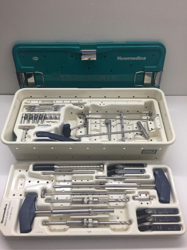 Howmedica Omega Plus Orthopedic Instruments With Images