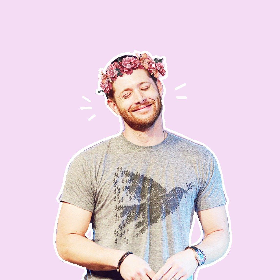 Jensen ackles with flower crown my first edit by picsart spn jensen ackles with flower crown my first edit by picsart spn spnedit supernatural jensenackles izmirmasajfo