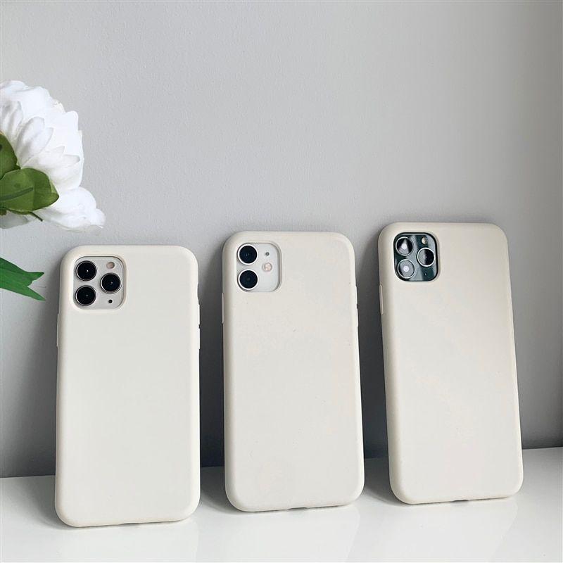 For Iphone 12 Pro Max Case Antique White Original Liquid Silicone Phone Case For Iphone 12 Case For Iphone 12 Silicone Phone Case Star Phone Case Iphone Cases