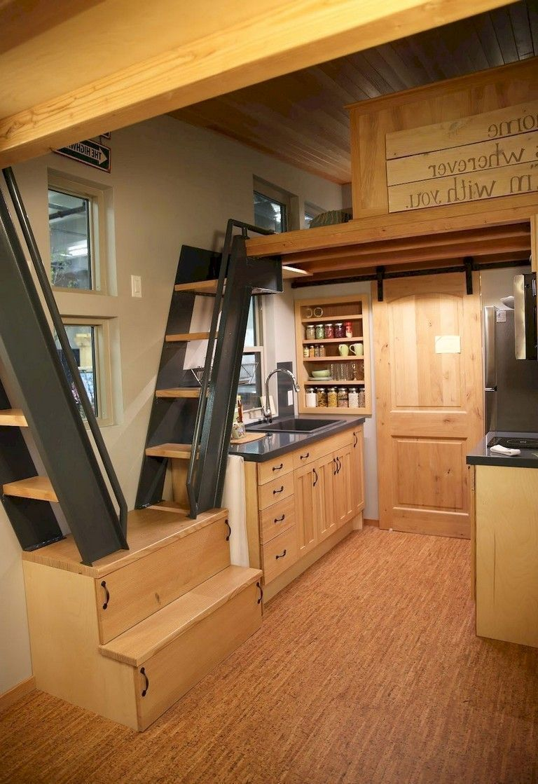 52 Newest Small Loft Stair Ideas For Tiny House images