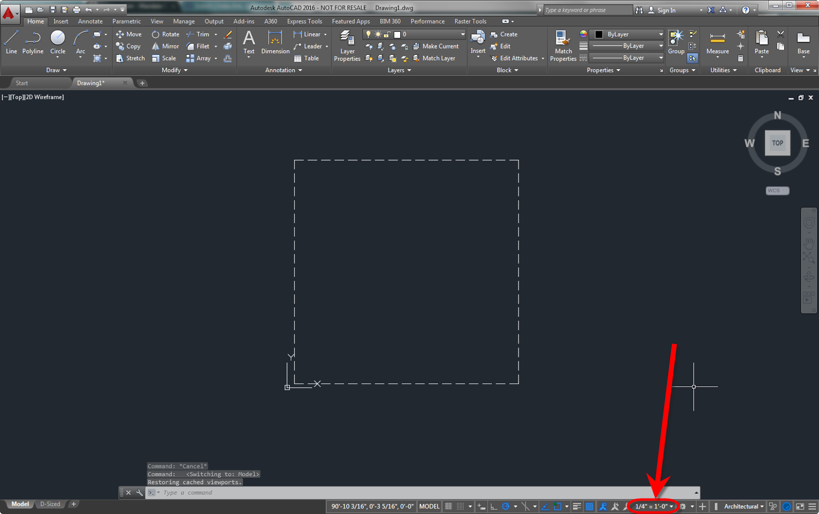 Drawing Lines In Autocad Using Coordinates : Making isometric text and dimension in autocad lt tips