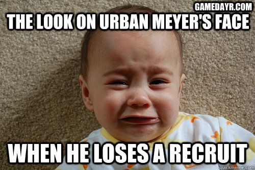 Funny Meme Urban : Nfl funny baby memes recruit kc mcdermott calls urban meyer a