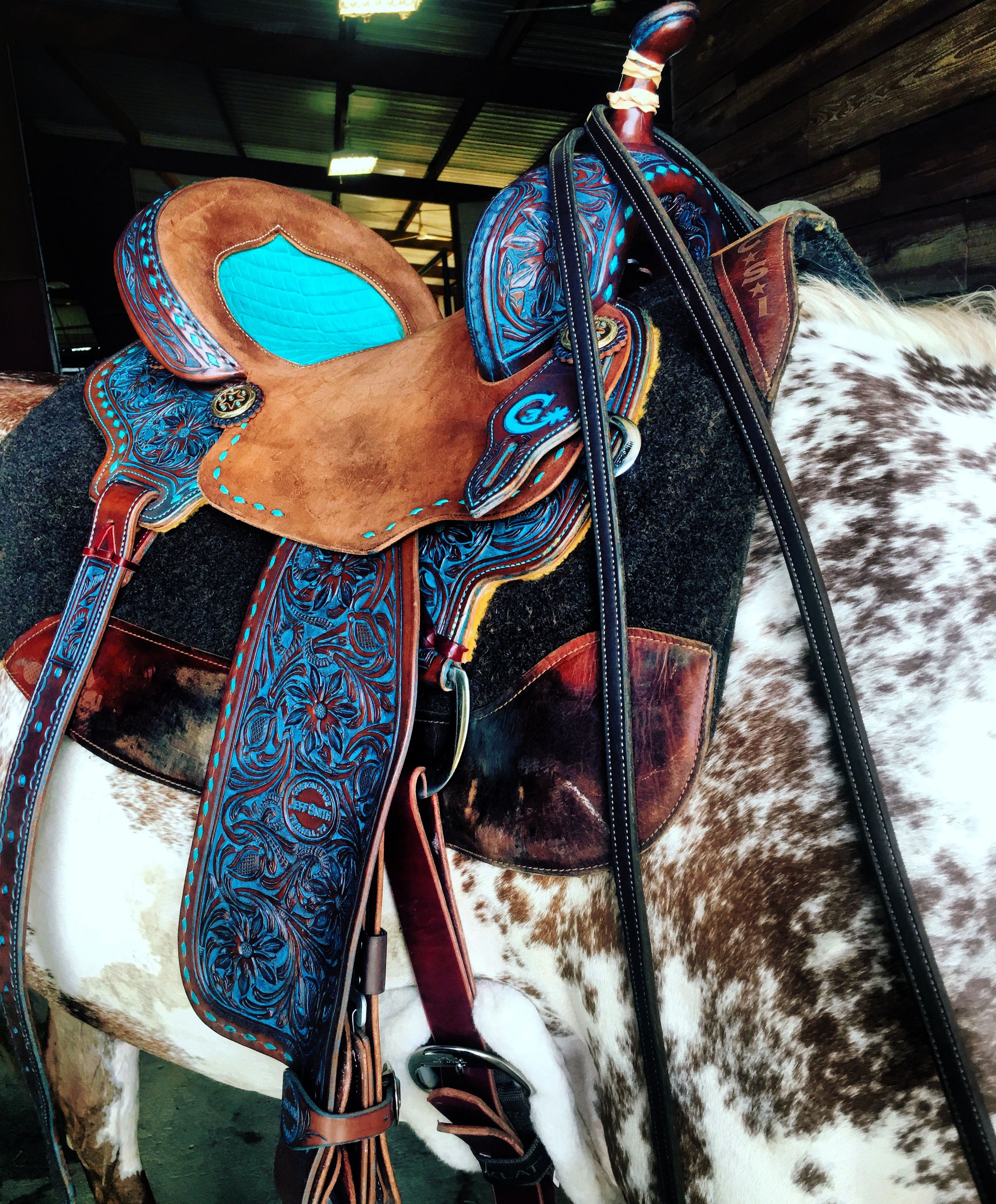 I M In Love With This Saddle Horse Tack Rodeo Horses Tack Horse Saddles