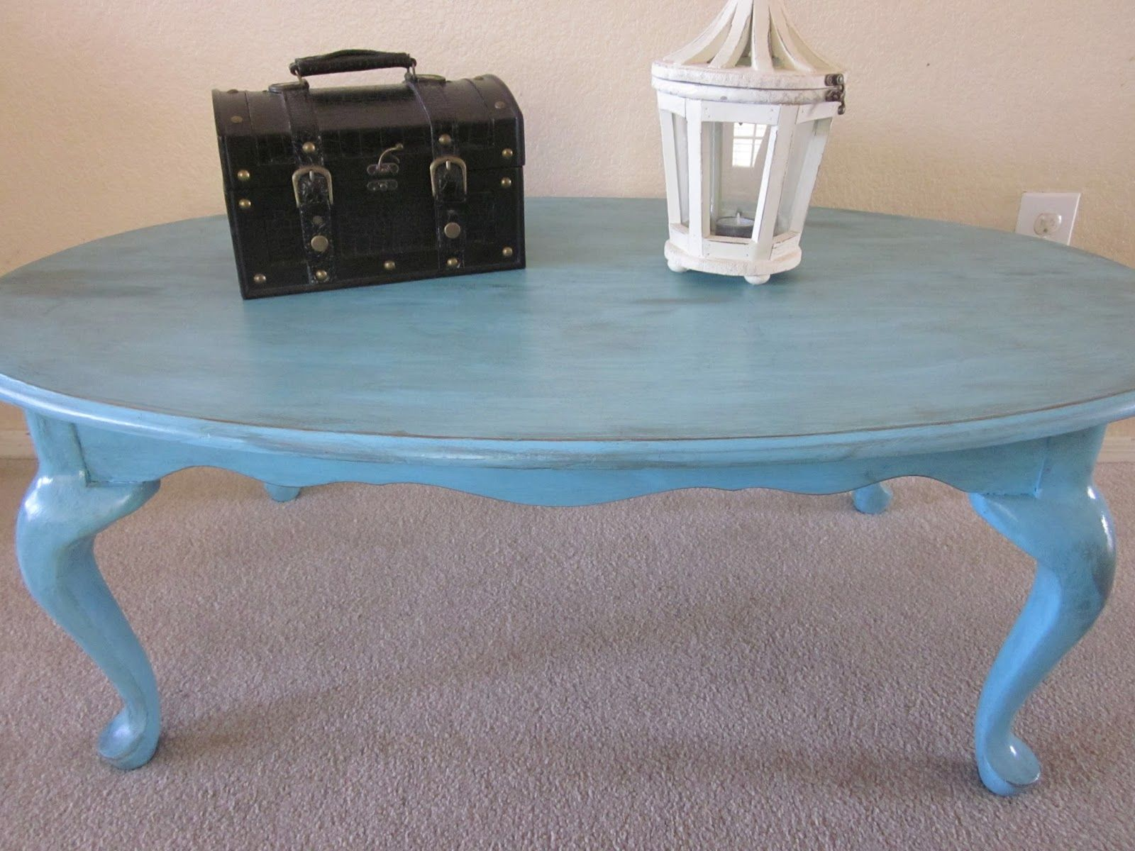 - Blue Oval Coffee Table Coffee Table, Oval Coffee Tables