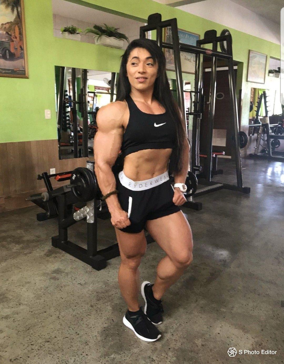 Bei frauen muskeln Muskelaufbau bei