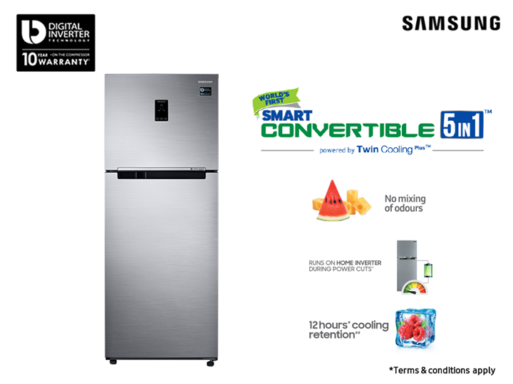Twin Cooling Plus Is Samsung S Revolutionary Technology With Independent Cooling System With Separate Airfl Powercut Temperature Control Conditioner